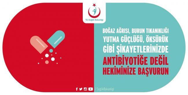 Hekiminiz Yazmadıkça Antibiyotik Kullanmayın