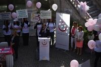 İl Sağlık Müdürlüğü Koordinasyon Sorumlusu Dr. Yunuz ARSLAN Meme Kanserinde Erken Teşhisin Önemini anlatıyor.