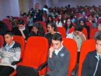 Hamitler TOKİ Anadolu Lisesinde seminer. Metin UYANIK