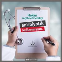 Antibiyotik Kullanmayın