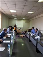 Katılımcılar Temel Yaşam Desteği Uygulaması yapmakta.