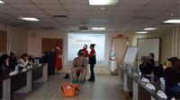 KBRN olaylarında sağlık personelinin kullanacağı C Tipi kıyafet tanıtımı ve giydirilmesi