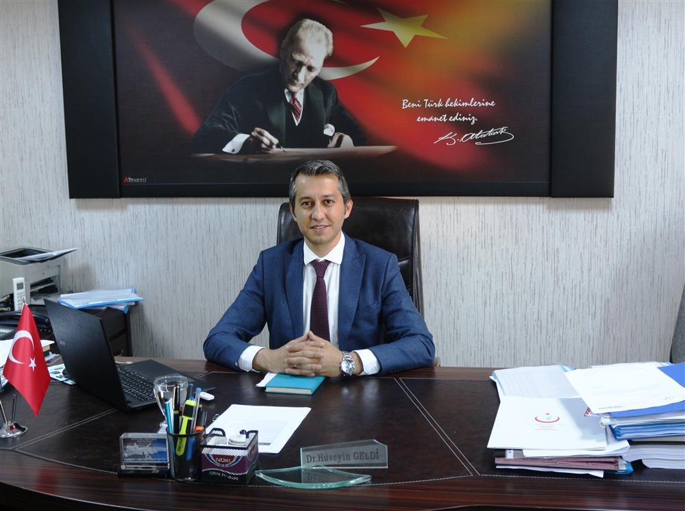 Personel ve Destek Hizmetleri Başkanı                          Dr. Hüseyin GELDİ