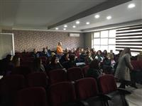 Sağlık Eğitimcisi Metin Uyanık 'Sigaranın Zararları' konusunda eğitim verdi.