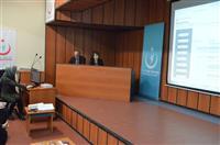 Sağlık Hizmetleri-İlaç ve Tıbbi Cihaz Hizmetleri Başkanı Uzm. Dr. Ayhan KALYONCU ve Dr. Nevin KODAL