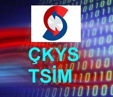 ÇKYS/TSIM Şifre Talep Formu