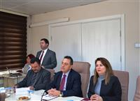 İl Sağlık Müdürlüğü Halk Sağlığı Hizmetleri Başkan Yardımcısı Dr. Yunuz ARSLAN sunum yapıyor
