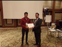 Müdürlüğümüz Halk Sağlığı Hizmetleri Başkan Yardımcısı Dr. Yunuz ARSLAN tarafından katılımcılara sertifikaları takdim edildi.