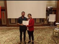 Müdürlüğümüz Halk Sağlığı Hizmetleri Başkanı Dr. Esma KUZHAN tarafından katılımcılara sertifikaları takdim edildi.