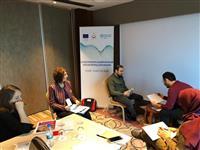Programda küçük grup çalışmaları gerçekleştirildi.