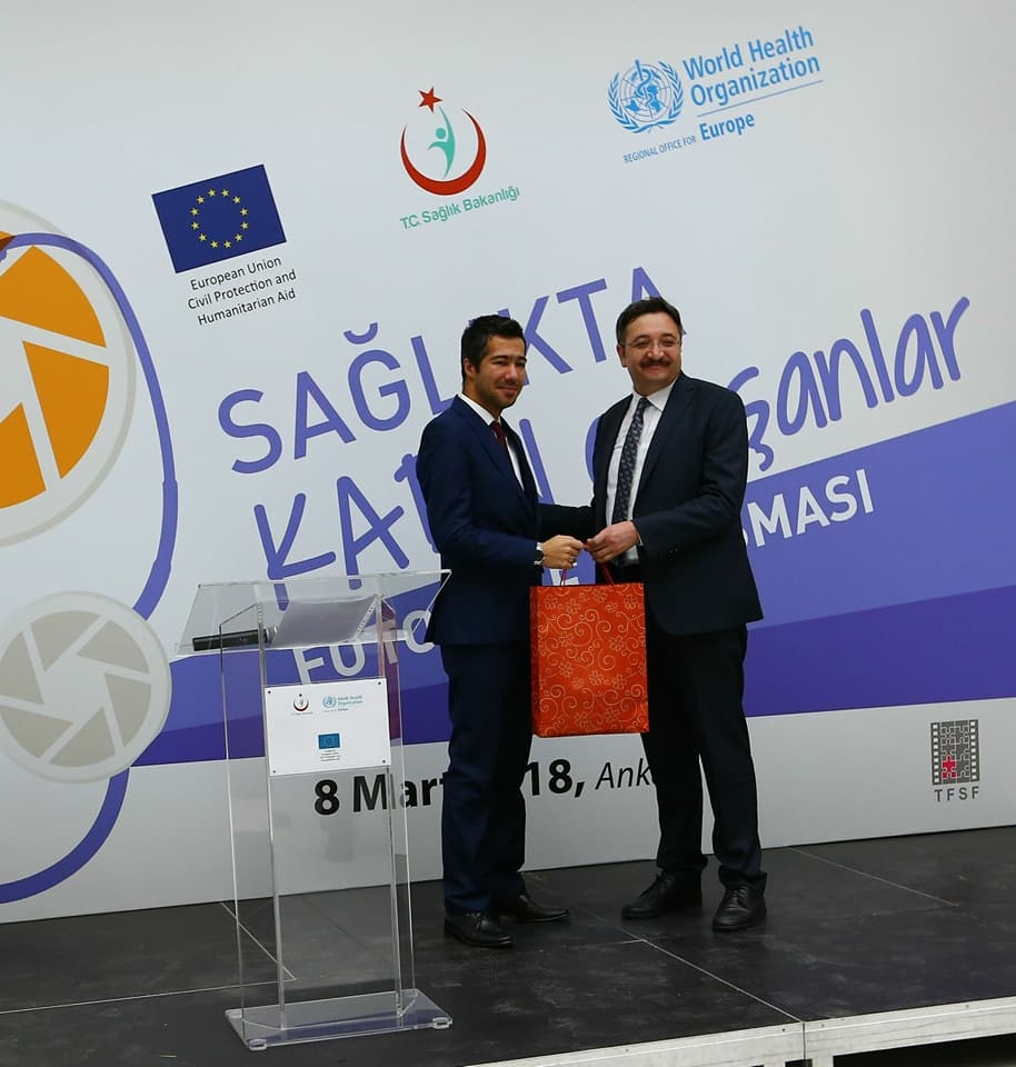 Sağlık Bakanlığı Fotoğraf Yarışmasından Kocaeli 112'ye Ödül