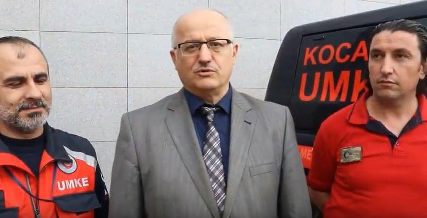 Kocaeli UMKE ekipleri Kilis'e uğurlandı