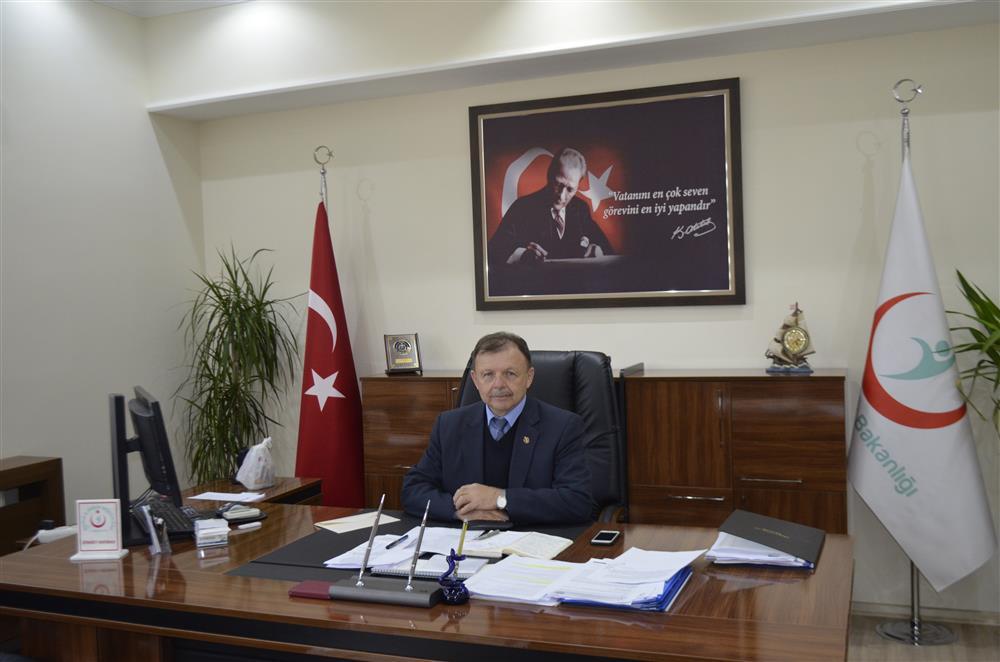 Müdürümüz Dr. İskender GENÇER'in açıklaması