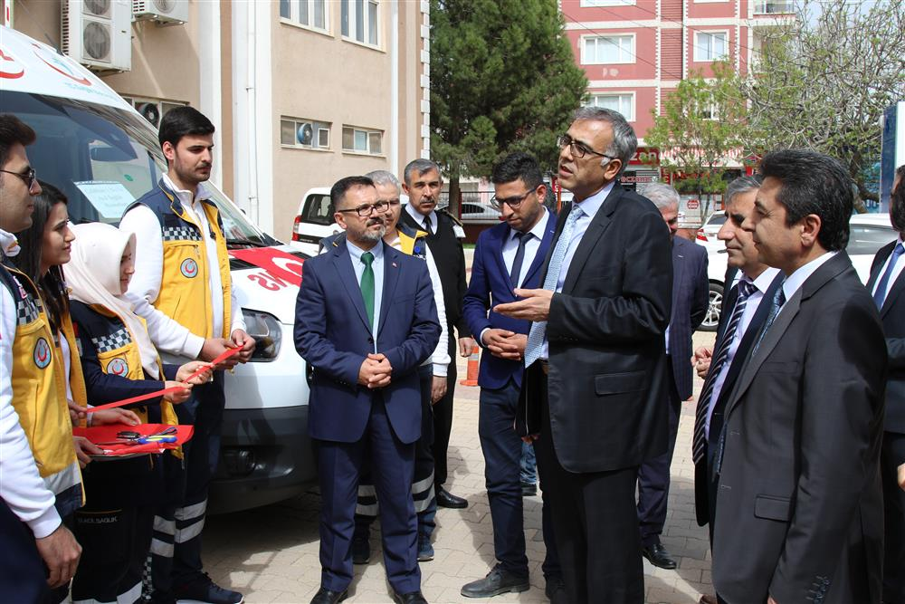 Yeni Ambulanslar Hizmete Girdi Kapak (4).JPG