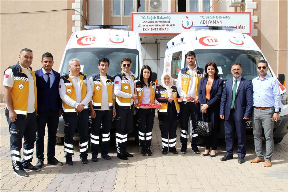 Yeni Ambulanslar Hizmete Girdi Kapak (2).JPG