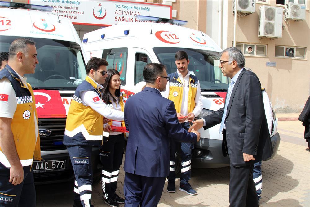 Yeni Ambulanslar Hizmete Girdi Kapak (3).JPG