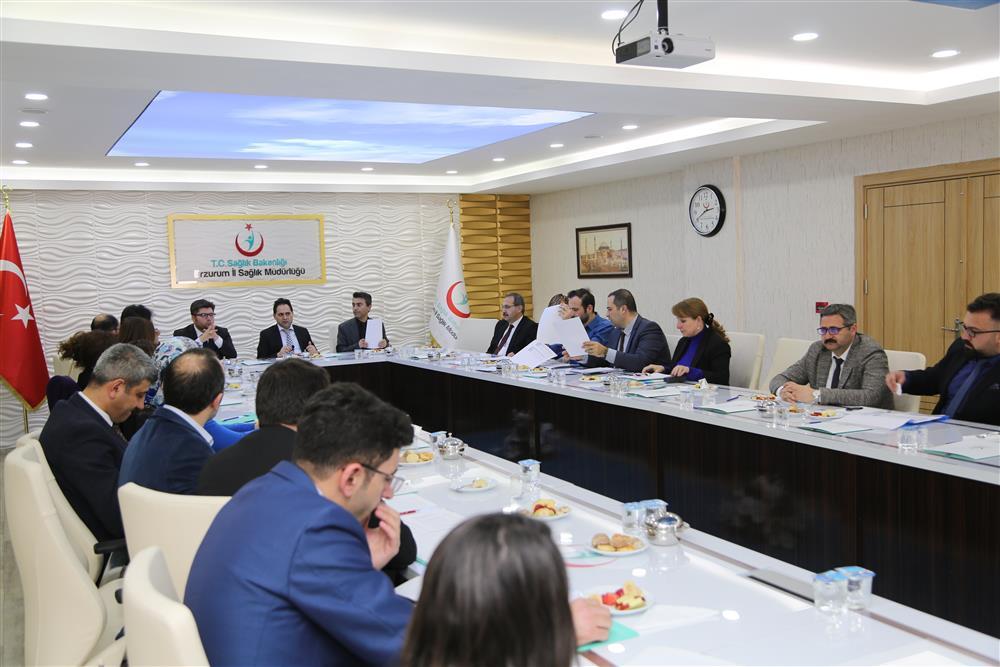 Acil Sağlık Hizmetleri Koordinasyon Merkezi (ASKOM) Toplantısı Gerçekleştirildi.