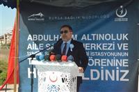 İl Sağlık Müdürü Dr. Özcan AKAN