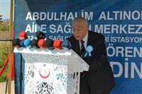 Hayırsever Abdülhalim ALTINOLUK'un katkılarıyla Beşevler'de yapımına başlanan Abdülhalim Altınoluk Aile Sağlığı Merkezi'nin temel atma töreni Başbakan Yardımcısı Hakan ÇAVUŞOĞLU'nun teşrifleriyle düzenlenen törenle gerçekleşti.