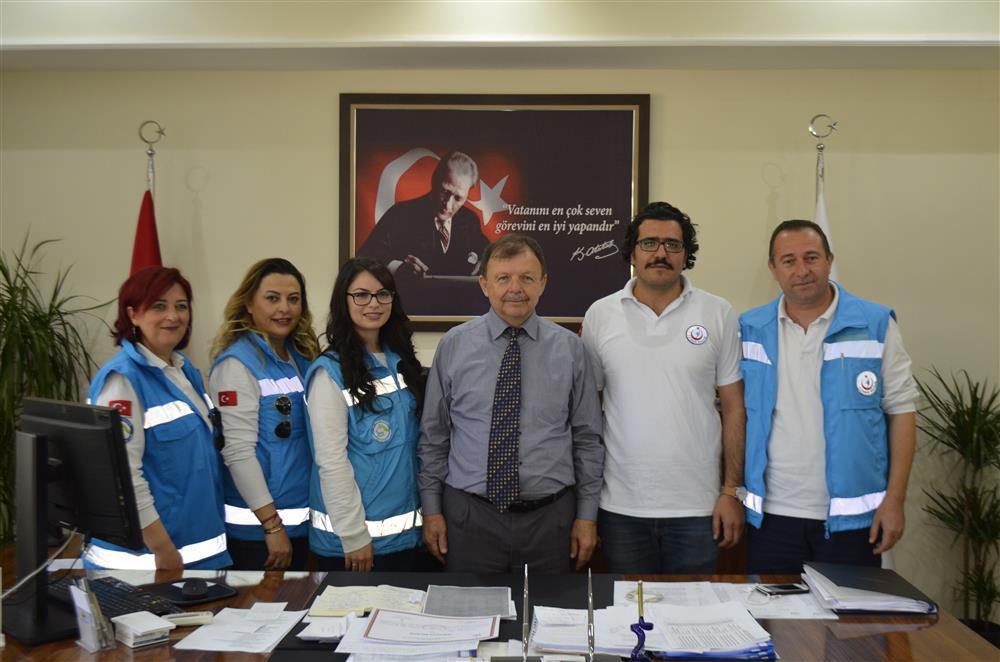 Milas Devlet Hastanesi Evde Sağlık Hizmetleri Birimine Teşekkür Belgeleri Verildi.