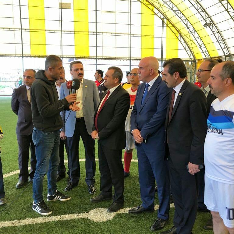 Sağlık Çalışanları Geleneksel Bahar Futbol Turnuvası Başladı