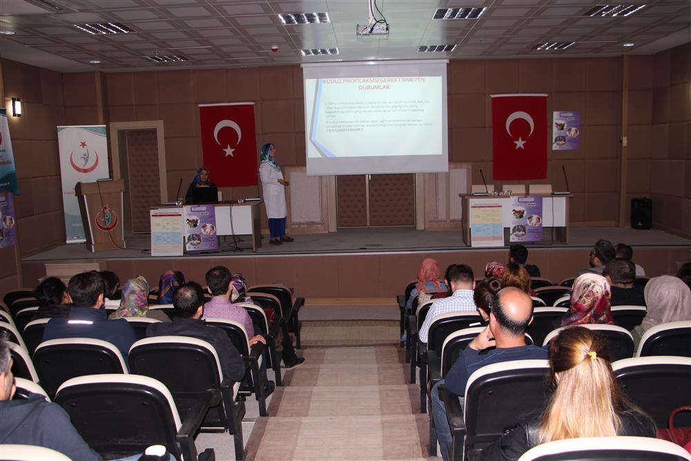 Sağlık Müdürlüğümüzde Kuduz Hastalığı Ve Kuduz Profilaksisi Konulu Eğitim