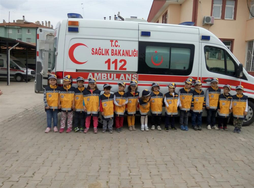 TOBB Anaokulu Miniklerin Tokat 112 Ziyareti