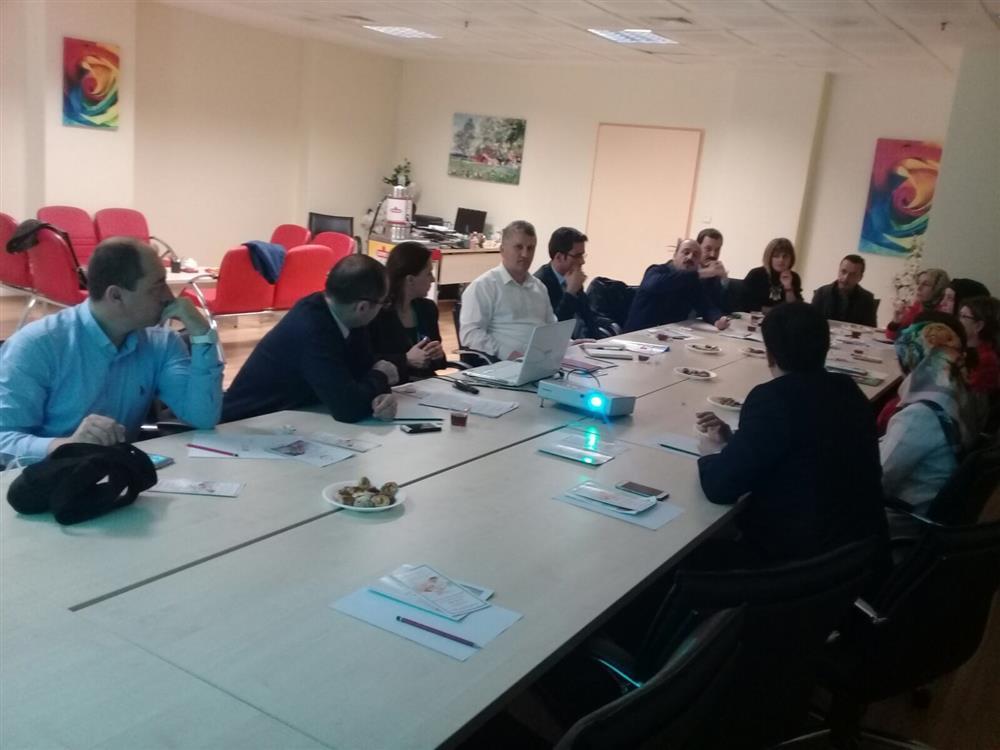 Evde Sağlık ve Sosyal Hizmetleri Değerlendirme Toplantıları Yapıldı.
