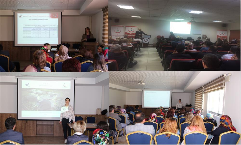 Elazığ Şehir Hastanesi Açılış Öncesi Değerlendirme Ve Oryantasyon Eğitimleri Başladı