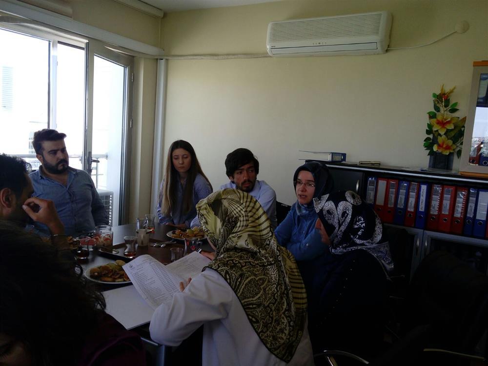 Evde Sağlık Hizmetleri kalite komite toplantısı yapıldı.