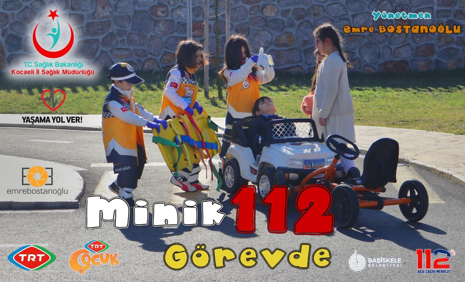 Minik 112 görevde