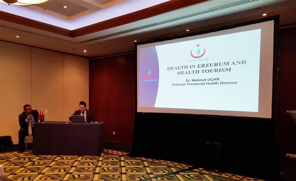 Sağlık Müdürümüz Dr. Mahmut UÇAR, Gürcistan'da bir dizi ziyaret ve temaslarda bulundu.