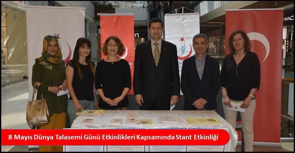 8 Mayıs Dünya Talasemi Günü Etkinlikleri Kapsamında Stant Etkinliği