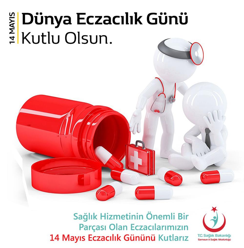 14 Mayıs Dünya Eczacılık Günü