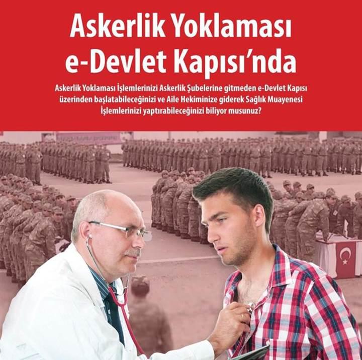 ASKERLİK YOKLAMASI E-DEVLET KAPISINDA