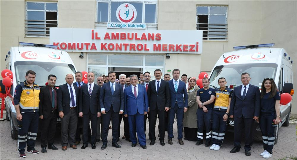 Ambulans Teslim Töreni